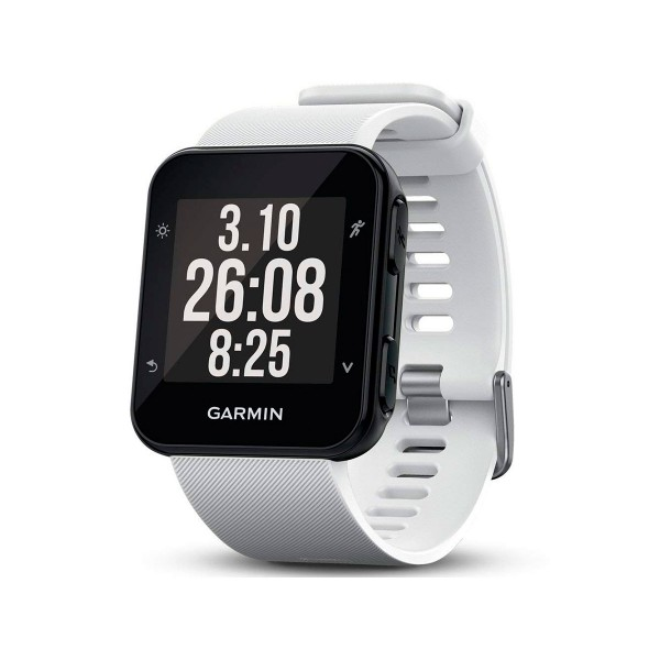 Garmin forerunner 35 blanco reloj inteligente de running con gps y monitor de frecuencia cardíaca