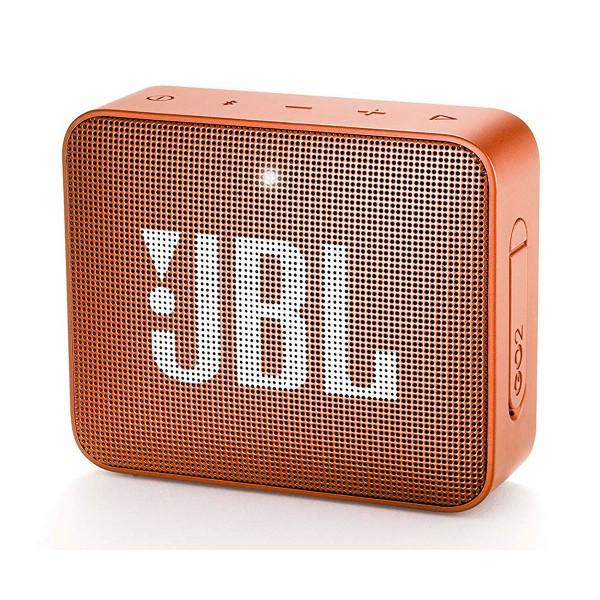 Jbl go2 naranja altavoz inalámbrico portátil 3w rms bluetooth aux micrófono manos libres impermeable ipx7