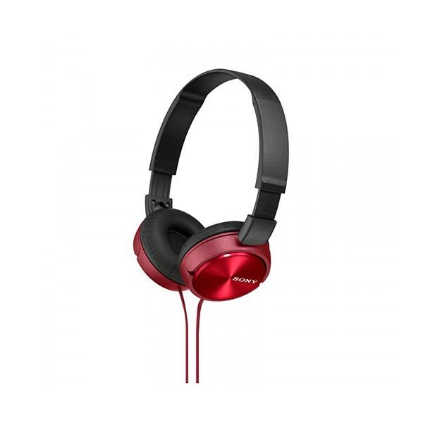 Sony mdrzx310r auriculares de diadema rojos