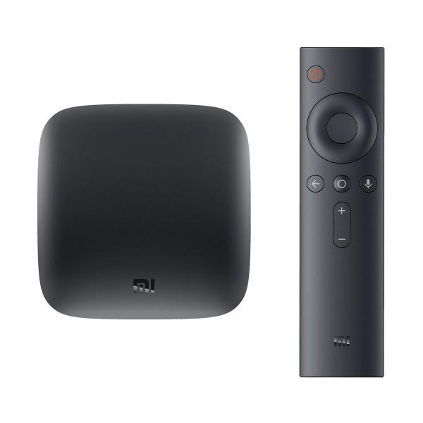 Xiaomi mi box s android tv 4k ultra hd con dispositvo para convertir el televisor en smart tv