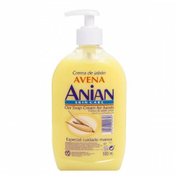 Anian crema de jabón de manos avena500 ml