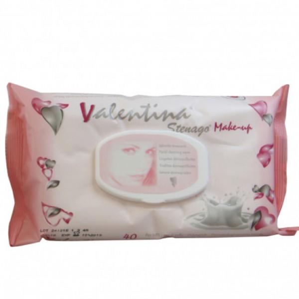 Valentina toallitas desmaquillantes con tapa 40 u