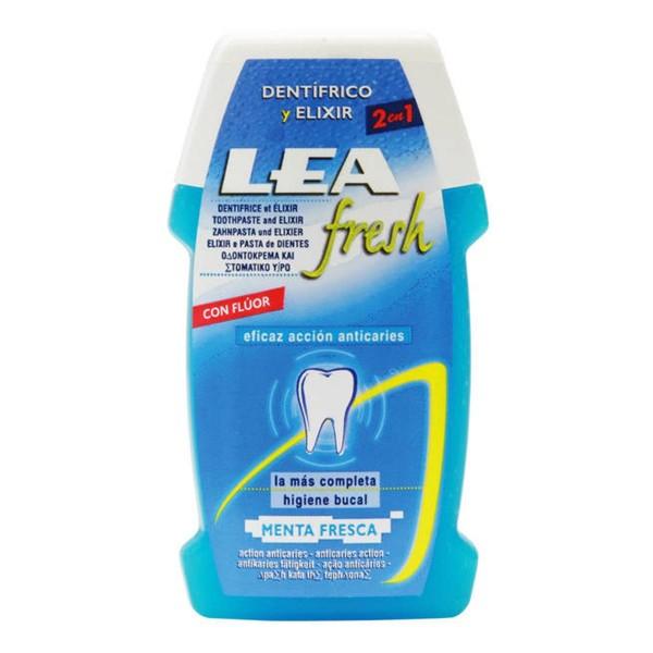 Lea fresh dentifrico y elixir menta fresca 100ml