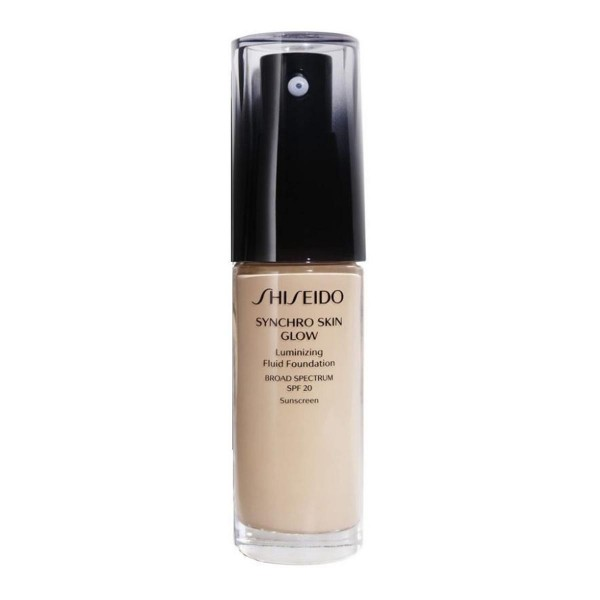 Shiseido synchro skin glow luminizing fluid foundation nº3 neutral 30ml