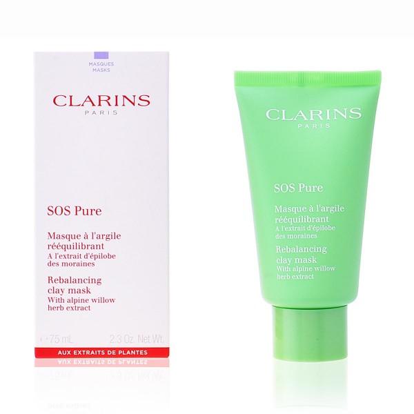 Clarins sos pure rebalancing clay mask 75ml