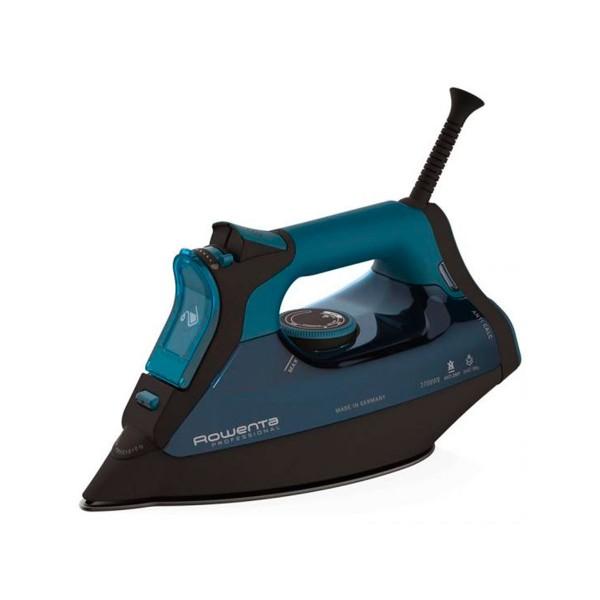 Rowenta dw8113 pro master plancha turquesa azul de vapor 2700w tecnología microsteam 400 hd con acabado láser