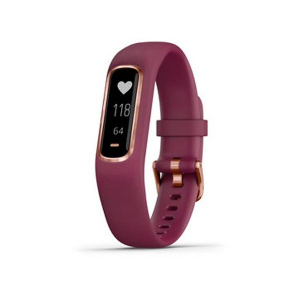 Garmin vivosmart 4 rose gold (rojo) talla s/m pulsera monitor de actividad inteligente