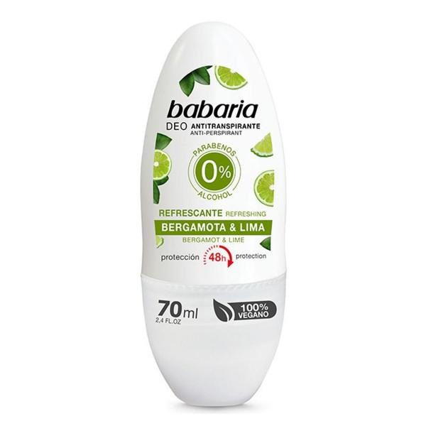 Babaria bergamota & lima desodorante roll-on 70ml