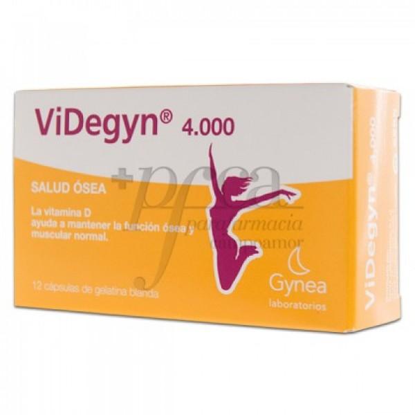 VIDEGYN 4000 12 CAPSULAS DE GELATINA BLANDA