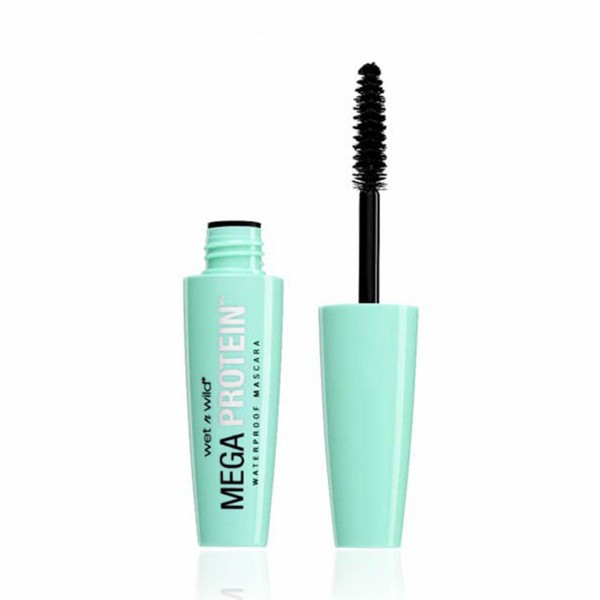 Wetn wild megaprotein mascara de pestañas very black waterproof 1un