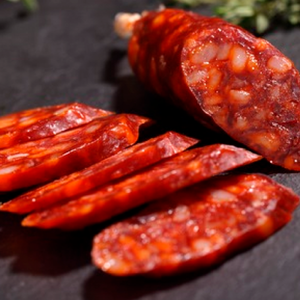 Chorizo sarta dulce producción ecológica (vacío 290 gr. aprox.)