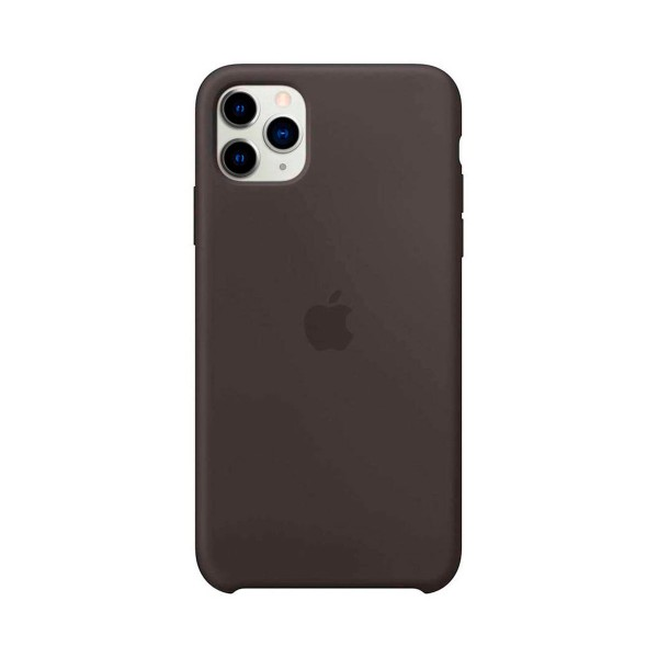Apple mx002zm/a negro carcasa silicone case iphone 11 pro