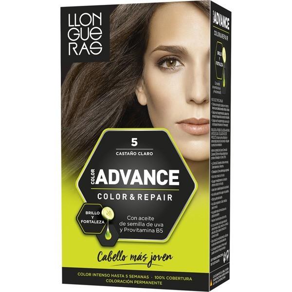 LLONGUERAS Advance  Tinte  color 5 castaño claro