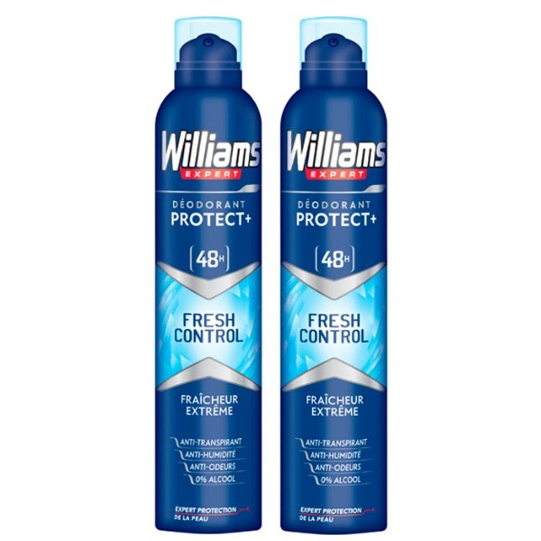Williams desodorante spray 200 ml + 200 ml