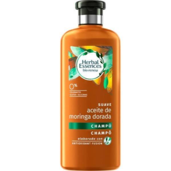 Herbal Essences champú Aceite de Moringa Dorada 400 ml