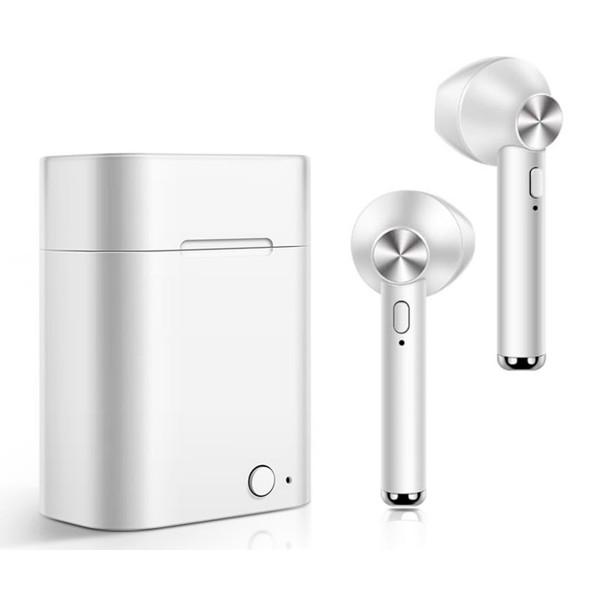 Akashi altwhearb earbuds wireless blanco auriculares inalámbricos bluetooth con estuche batería