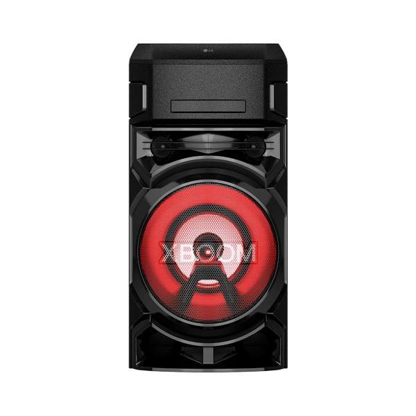 Lg xboom on5 sistema de audio de alto voltaje portatil bluetooth usb funciones dj y karaoke
