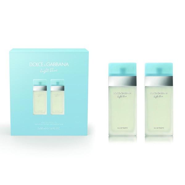 Dolce & gabbana light blue eau de toilette 50ml vaporizador + eau de toilette 50ml vaporizador