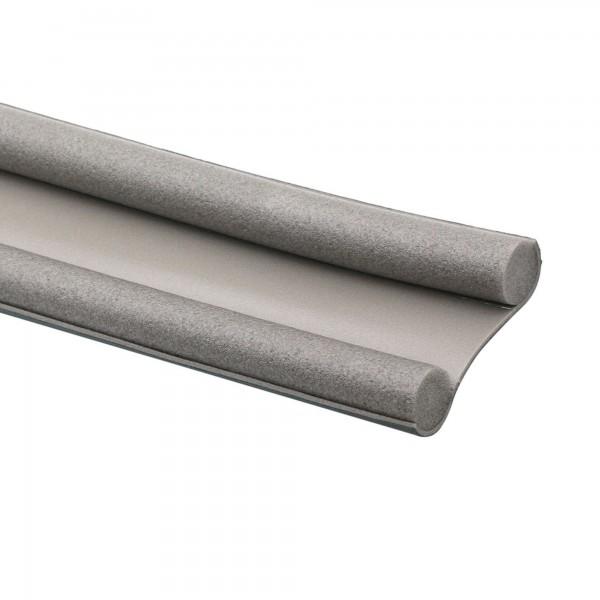 Burlete bajo puerta rollo 1mx25mm gris