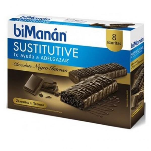 BIMANAN BARRITAS DE CHOCOLATE INTENSO 8 UDS