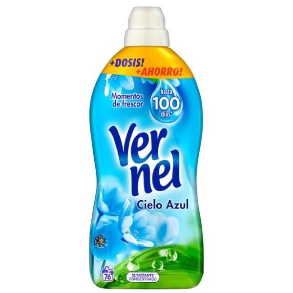 Vernel Cielo Azul suavizante 76 dosis