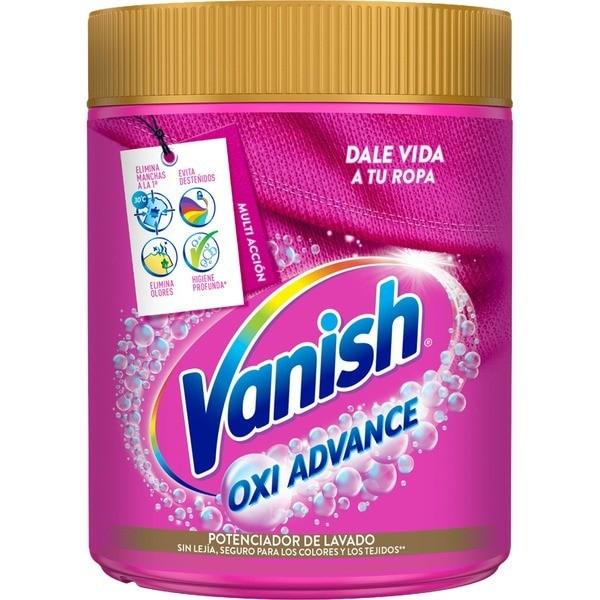 Vanish Oxi Advance quitamanchas en polvo 400gr + 400gr GRATIS